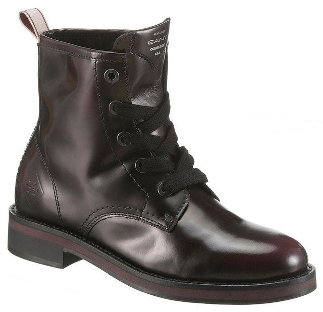 Gant Footwear »Malin« Schnürstiefelette im klassischen Look