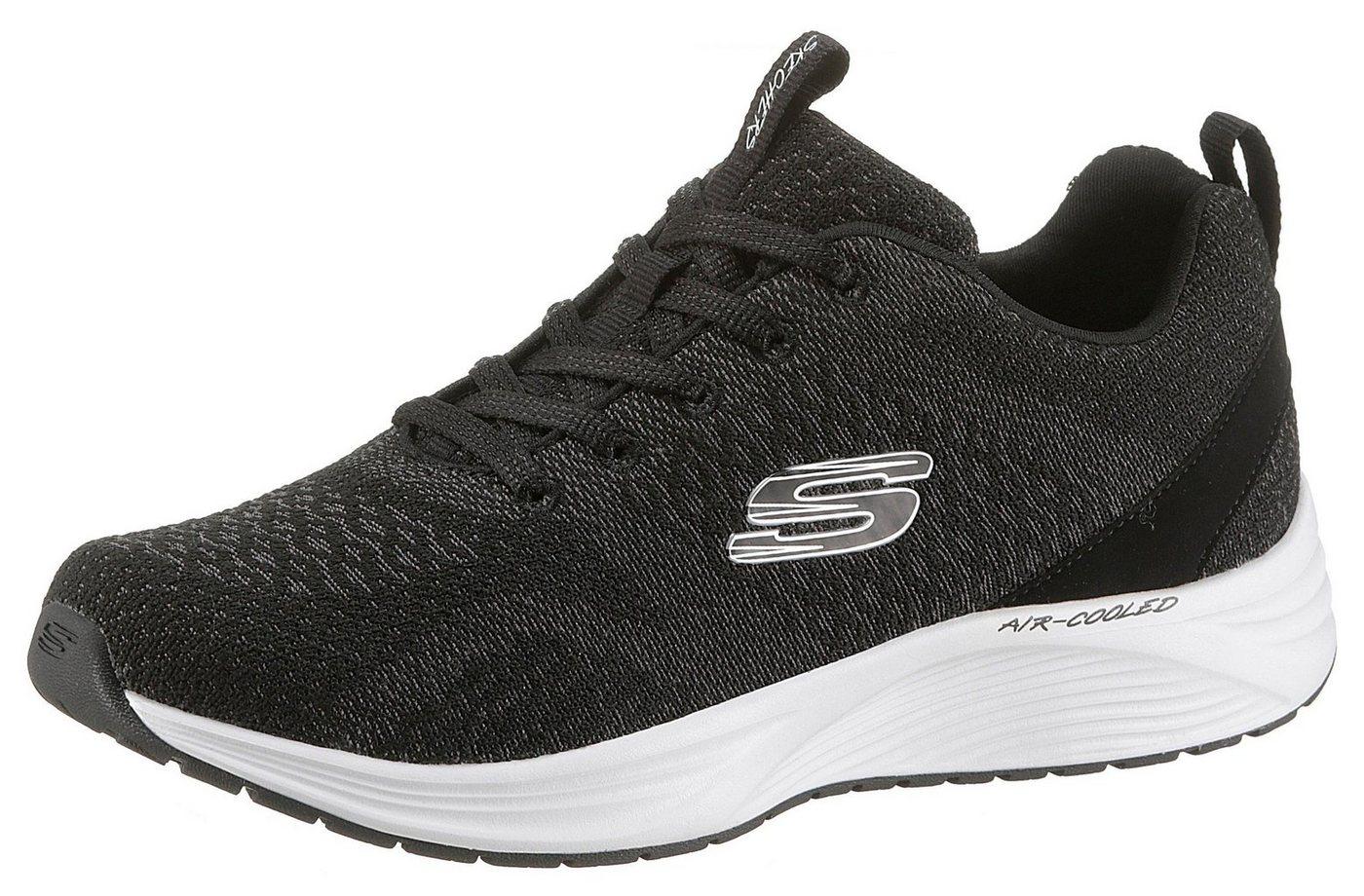 Damen Skechers Skyline Sneaker mit Bio Dri schwarz | 00192283416231
