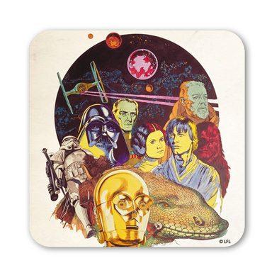 LOGOSHIRT Untersetzer mit Star Wars-Zeichnung