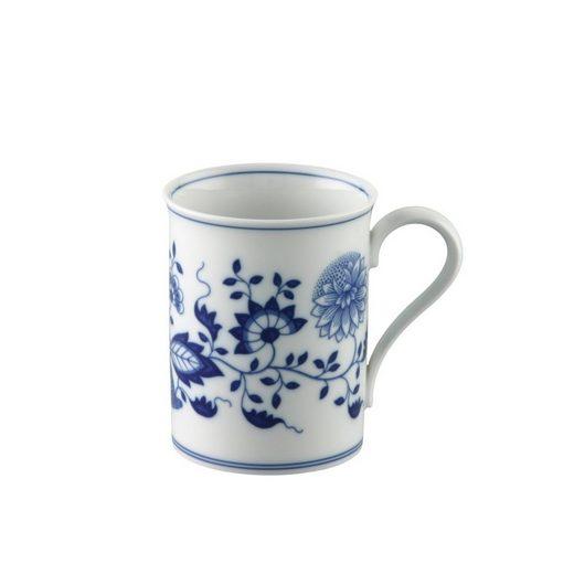Hutschenreuther Becher »Blau Zwiebelmuster Becher mit Henkel«, Porzellan