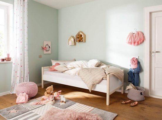 Lüttenhütt Daybett »Janne«, aus schönem massivem Kiefernholz, Einzelbett, in verschiedenen Farbvarianten erhältlich, Liegefläche 90x200 cm