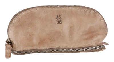 A.S.98 Kosmetiktasche, mit Reißverschluss-Fach im Boden