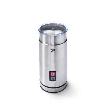 Tchibo Milchaufschäumer elektrisch Edelstahl, 500 W, aus rostfreiem Edelstahl mit antihaftbeschichteter Innenseite
