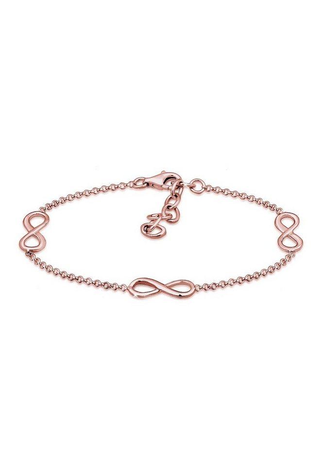 Elli Armband »Infinity Symbol Love Unendlich 925 Sterling Silber ... d0e1c66c86