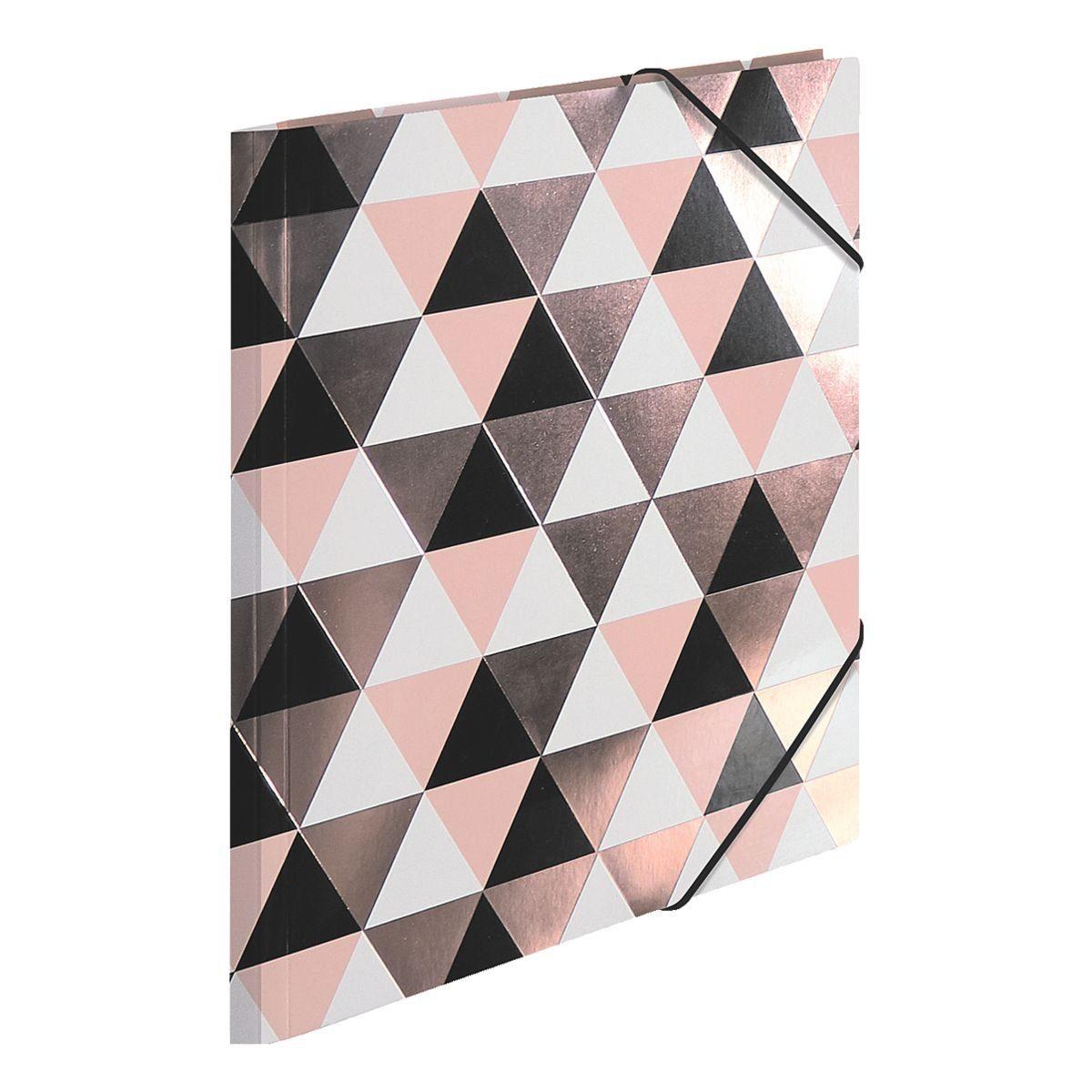 Herma Eckspanner »Rosegold Abstract A4«