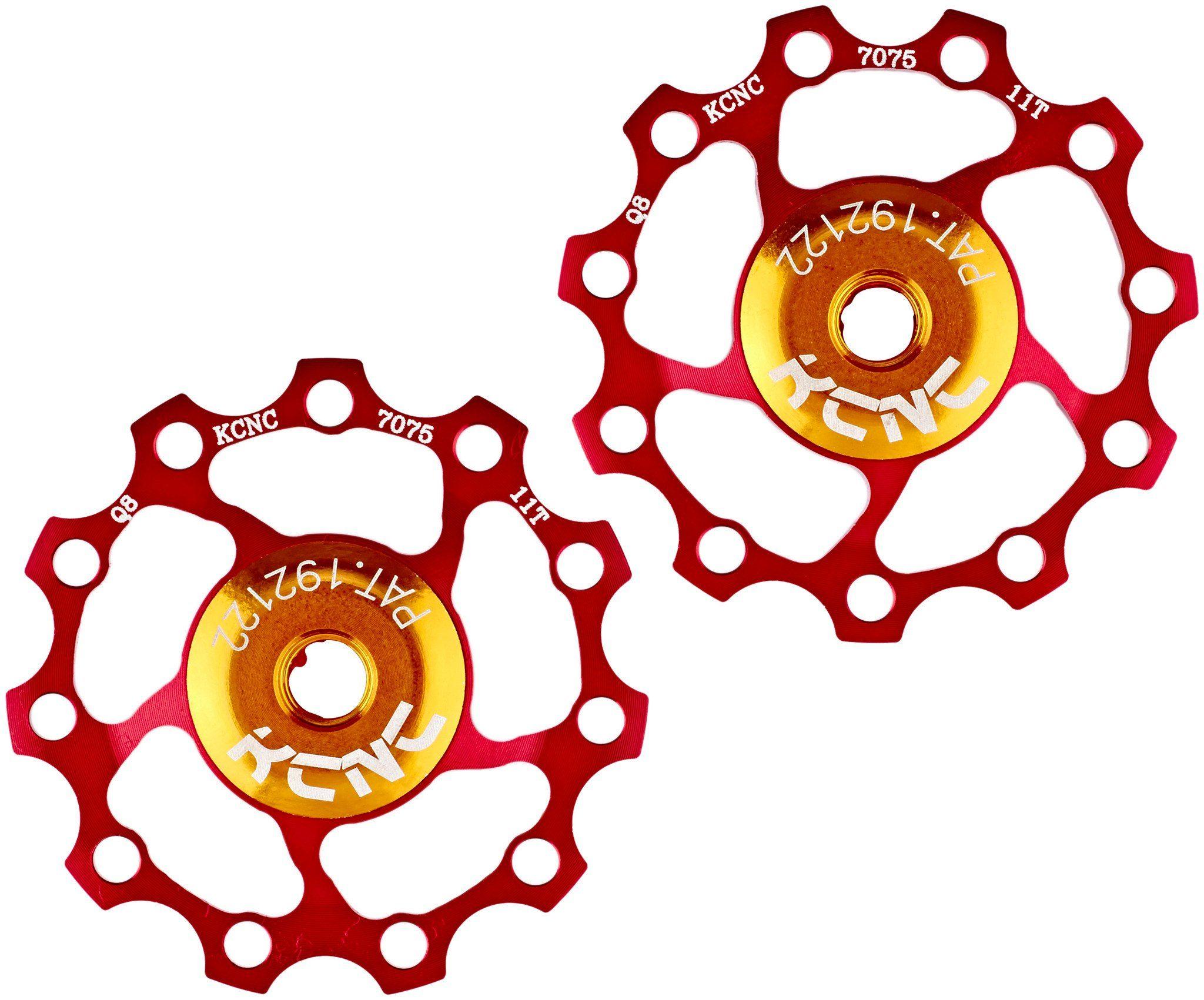 KCNC Kurbel »Jockey Wheel SS Bearing 11 Zähne Paar«