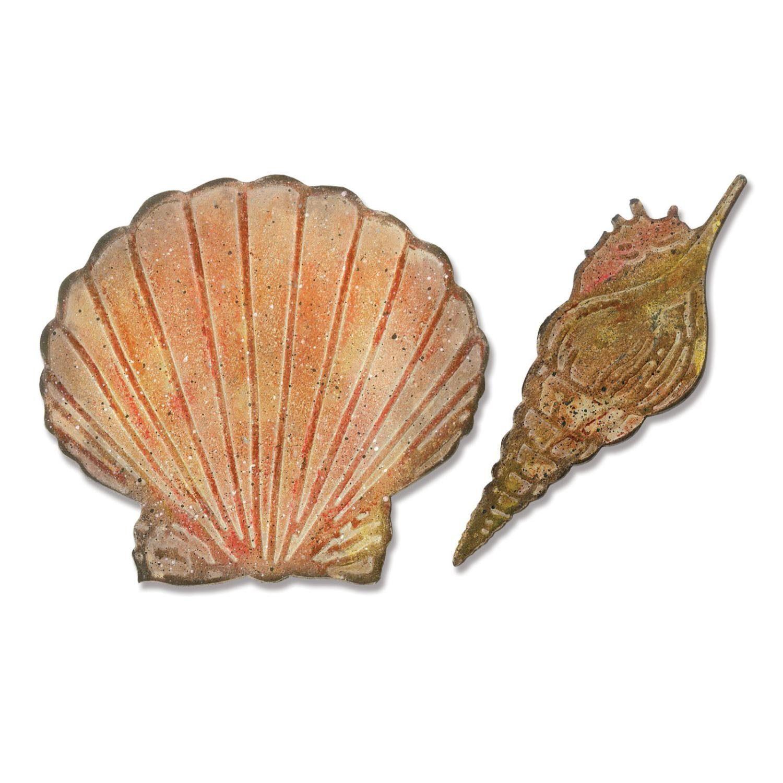 "Bigz Stanzschablone ""Seashells by Tim Holtz"""