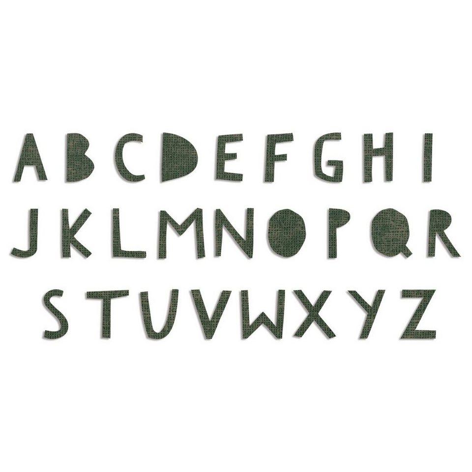 """Sizzix Bigz Stanzschablone """"XL Alphabet Die Cutout Upper by Tim Holtz"""" online kaufen"""