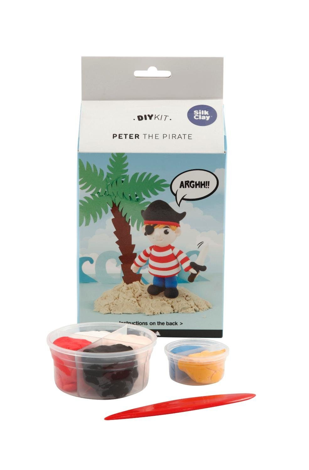 """Silk Clay - Funny Friends """"Peter the Pirate-Set"""" 7-tlg."""