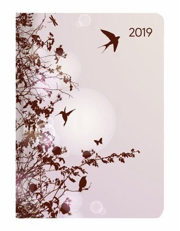 Kalender »Mini-Buchkalender Style Hummingbird Tree 2019«