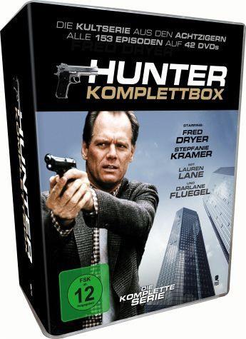 DVD »Hunter - Die komplette Serie (42 Discs)«