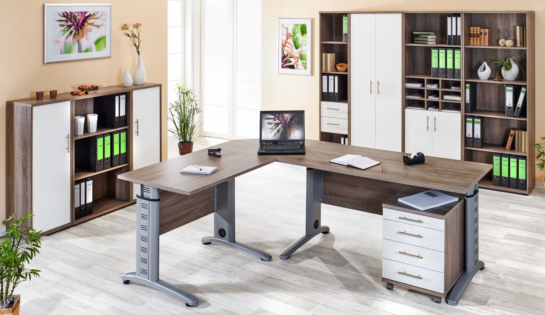 VCM 4-tlg. Schreibtisch-Set ´´Braso 230´´ | Büro > Bürotische > Schreibtische | Nachbildung | VCM