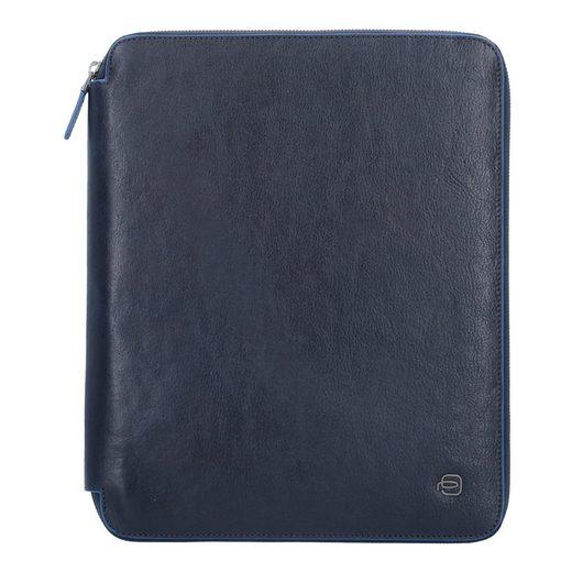 Piquadro Blue Square Special Schreibmappe Leder 32 cm