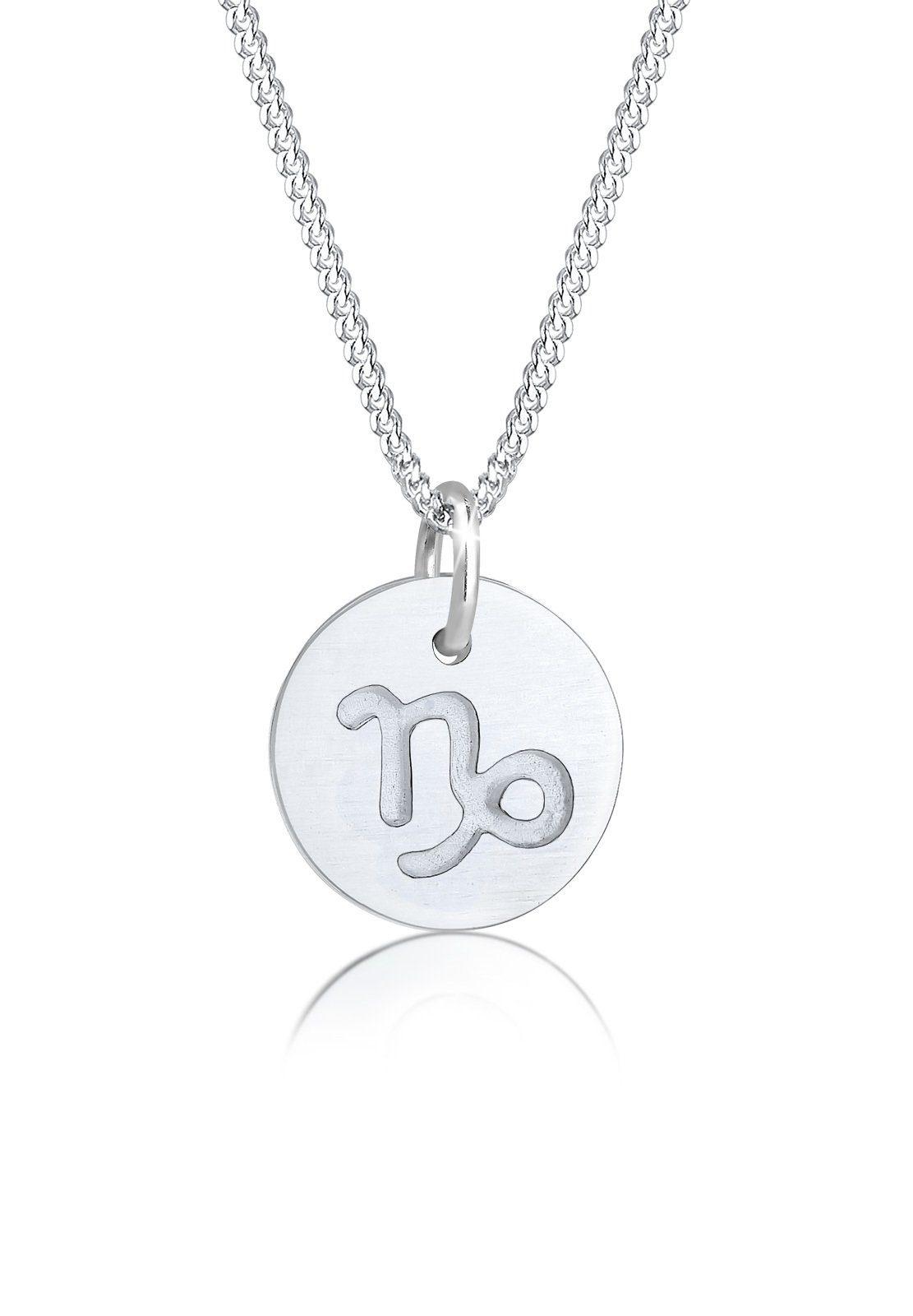Elli Collierkettchen »Sternzeichen Steinbock Astro Matt 925 Silber« online kaufen | OTTO