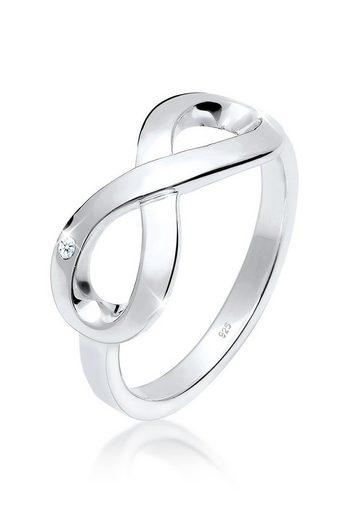 Elli Diamantring »Infinity Ewig Diamant (0.015 ct) 925 Silber«