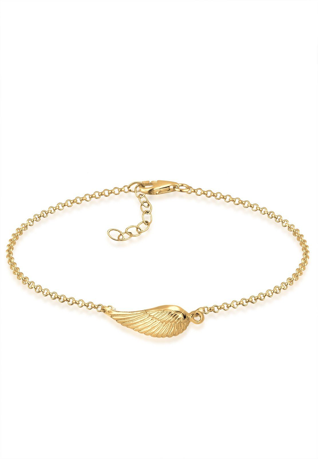GOLDHIMMEL Armband »Flügel 925 Sterling Silber«