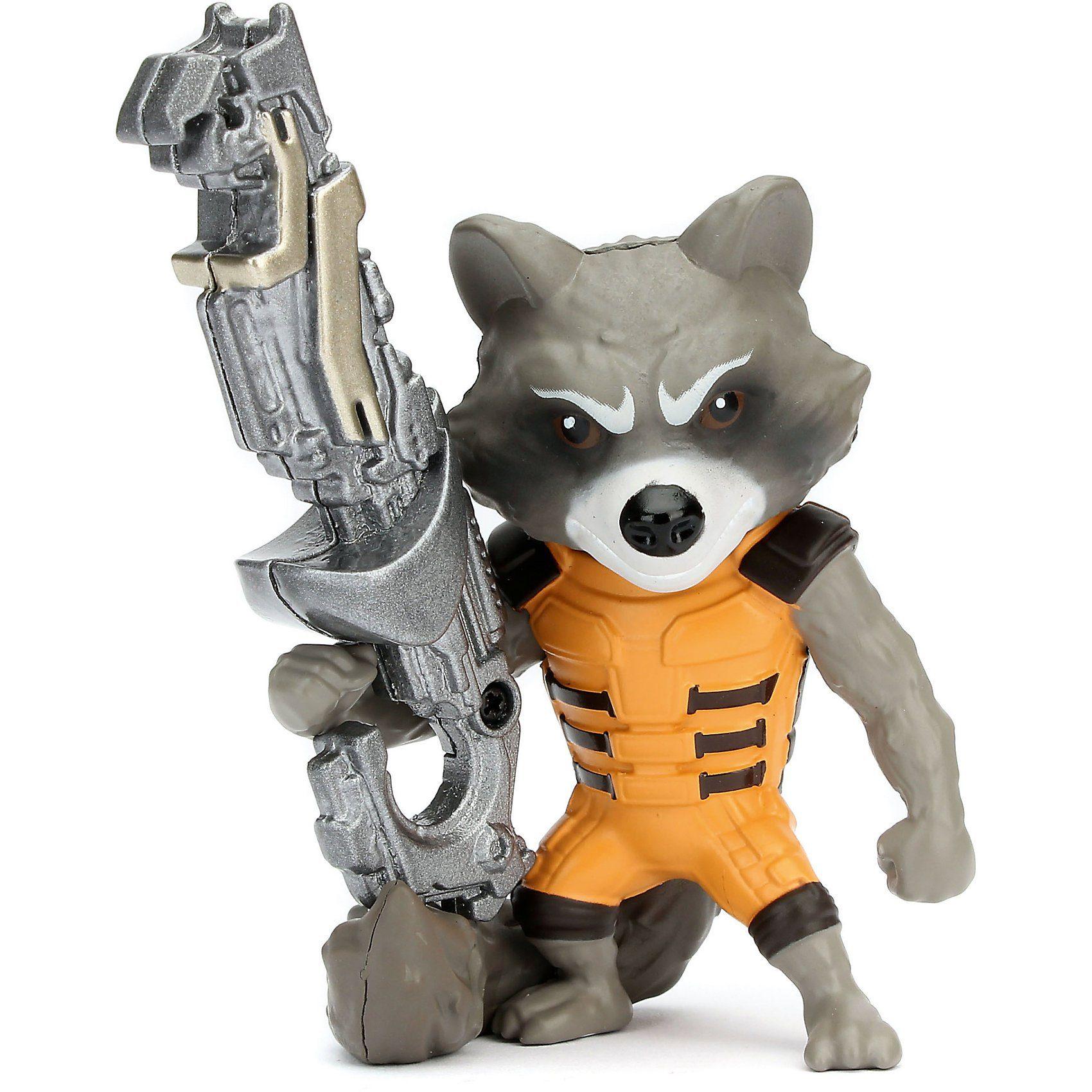 "Jazwares METALFIGS MARVEL Guardians of the Galaxy 4"" Figur Rocket Ra"
