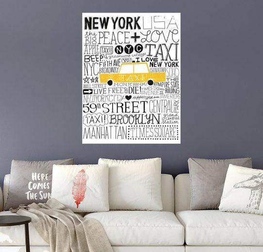 Posterlounge Wandbild - Michael Mullan »Typisch NYC III«