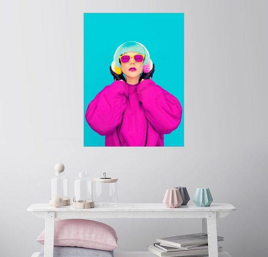 Posterlounge Wandbild »Pop Art Ikone«