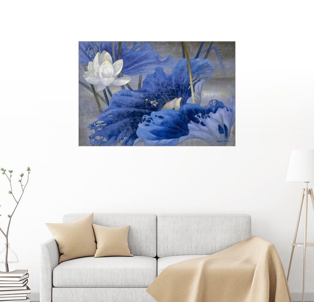 Posterlounge Wandbild - Ailian Price »Blauer Rythmus« | Dekoration > Bilder und Rahmen > Bilder | Holz | Posterlounge