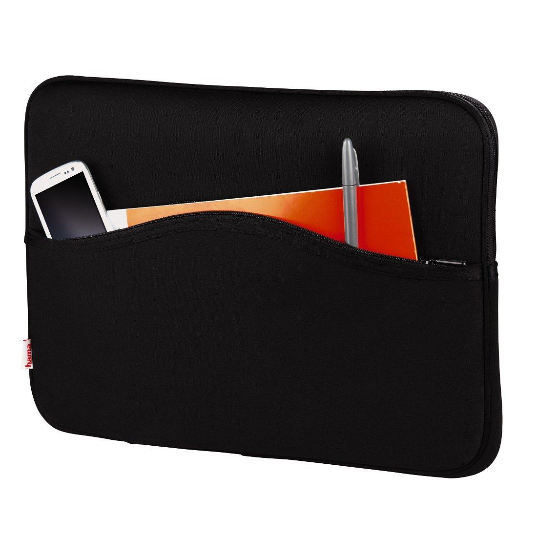 Hama Notebook-Sleeve Comfort, bis 34 cm (13,3), Schwarz