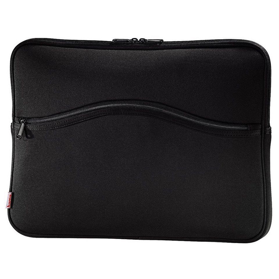 Hama Notebook-Sleeve Comfort , Displaygrößen bis 40 cm (15,6) in Schwarz