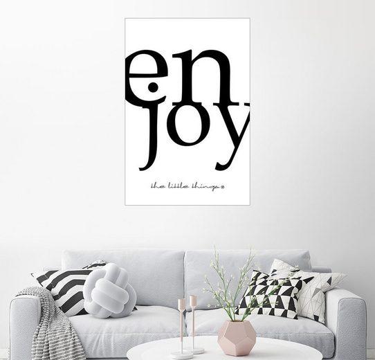 Posterlounge Wandbild - m.belle »enjoy«