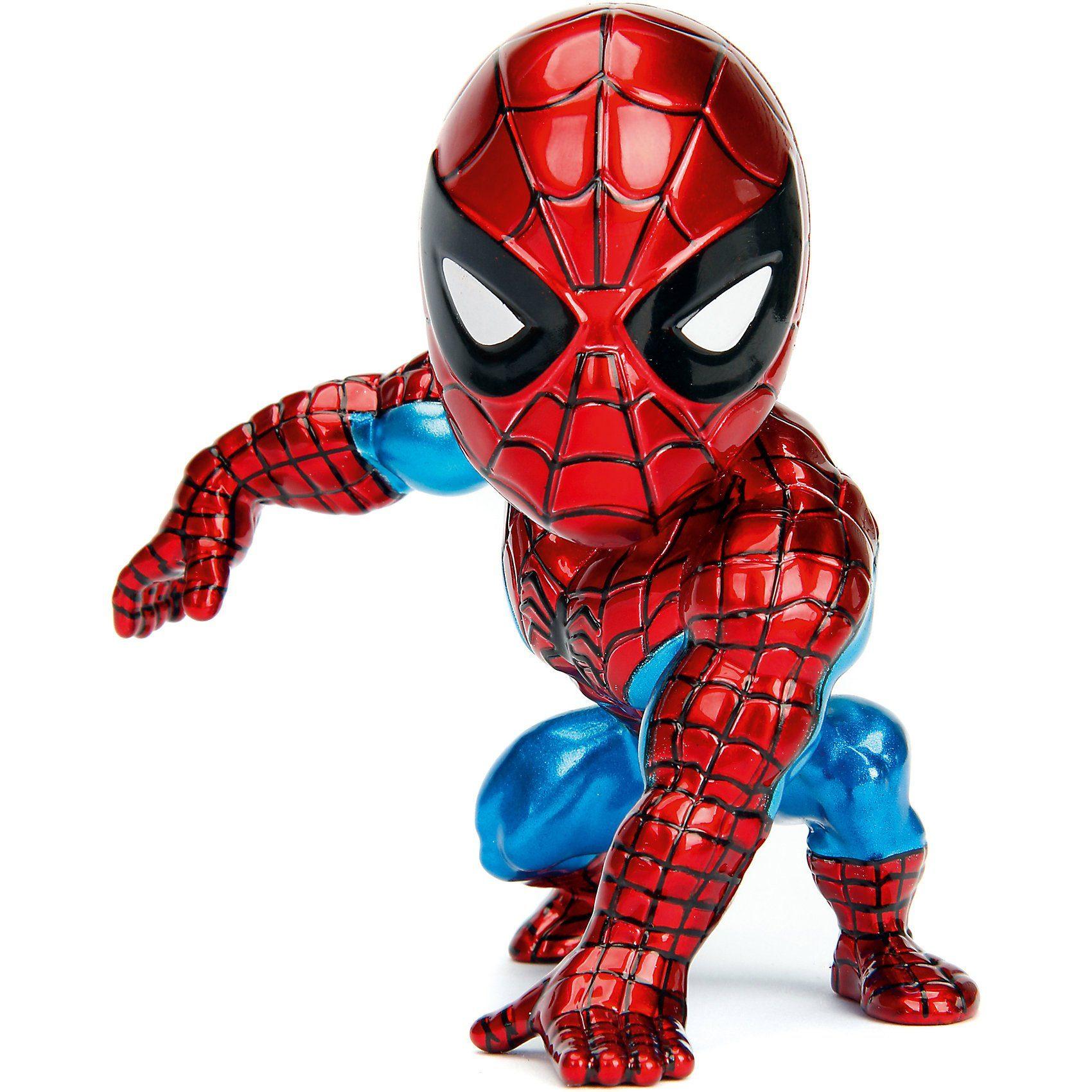 """Jazwares METALFIGS MAVEL SpiderMan 4"""" Figur SpiderMan"""