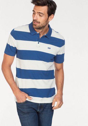 Levi's® Poloshirt hochwertige Piqué-Qualität