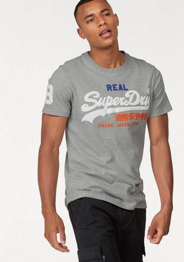 Superdry T-Shirt »VINTAGE LOGO TRI TEE«