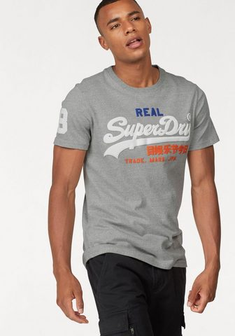 SUPERDRY Marškinėliai »VINTAGE LOGO TRI TEE«