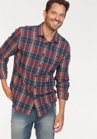 MAN'S WORLD Flaneliniai marškiniai