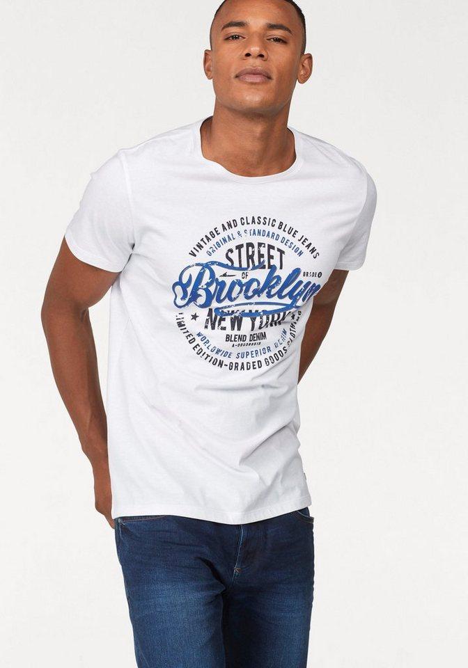 Blend T-Shirt »Brooklyn« Großer Frontprint