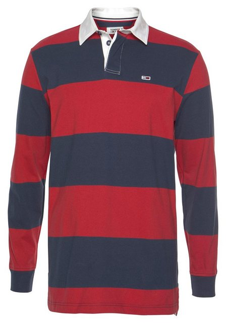 tommy jeans -  Langarm-Poloshirt »TJM TOMMY CLASSICS RUGBY SHIRT«