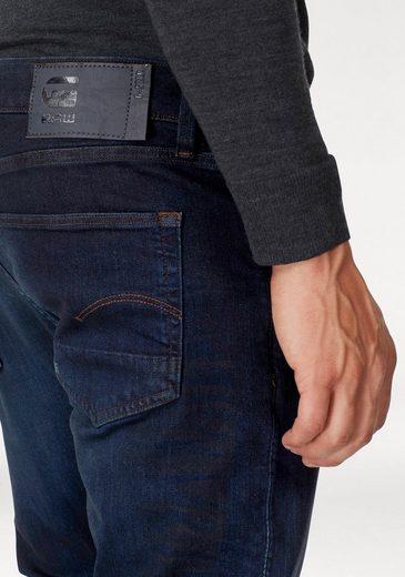 Slim Deconstructed jeans fit »3301 G Raw Dunkelblau star Slim« 4RLc5ASjq3