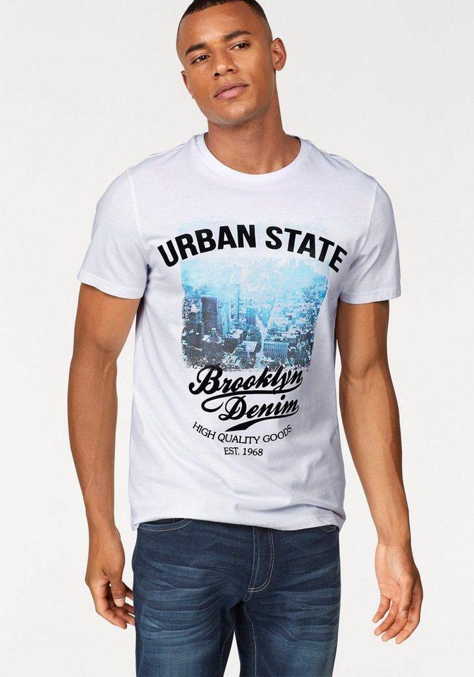 60744bd8699c09 John Devin T-Shirt mit Städte Print online kaufen