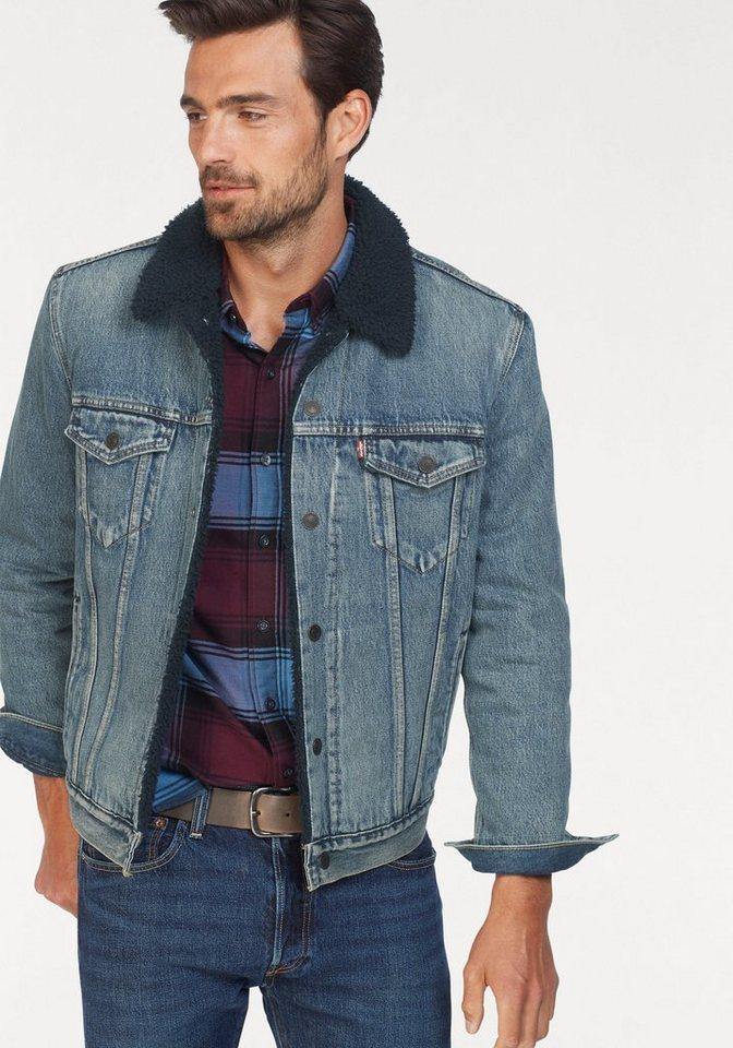 big sale c1435 aefd5 Levi's® Jeansjacke warm gefüttert online kaufen | OTTO