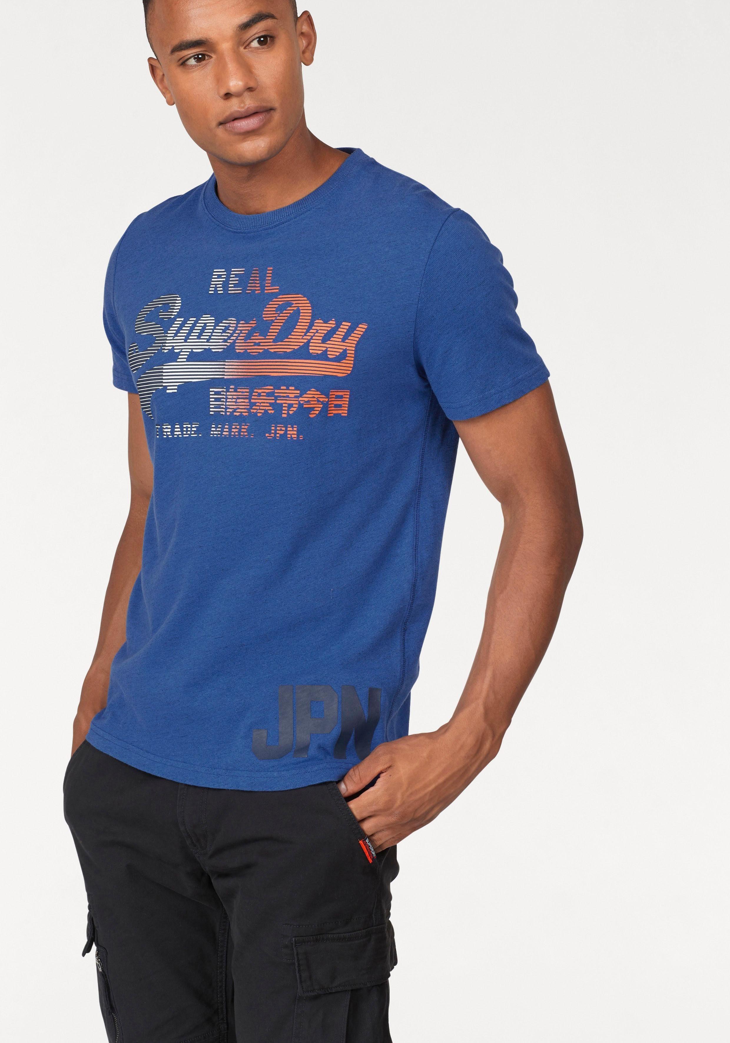 Superdry T-Shirt »VINTAGE LOGO 1ST«