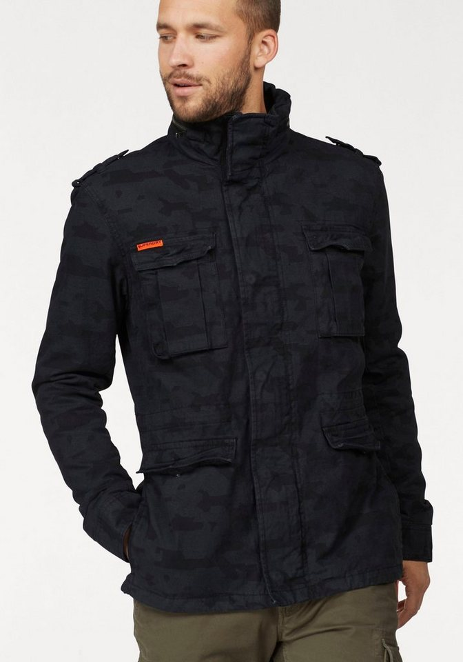 outlet store 50ad8 8b23c Superdry Fieldjacket »Classic Rookie Military Jacket« online kaufen | OTTO