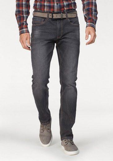 Arizona Stretch-Jeans »Clint« mit schmalerem Beinverlauf