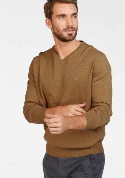 Пуловер с V-вырезом FYNCH-HATTON