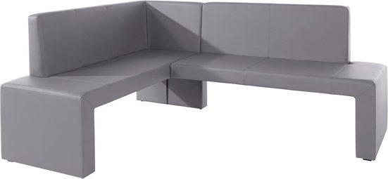 Eckbank »Valun«, langer Schenkel 200 cm, verschiedene Qualitäten