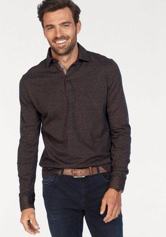 NO EXCESS Polo marškinėliai ilgomis rankovėmis
