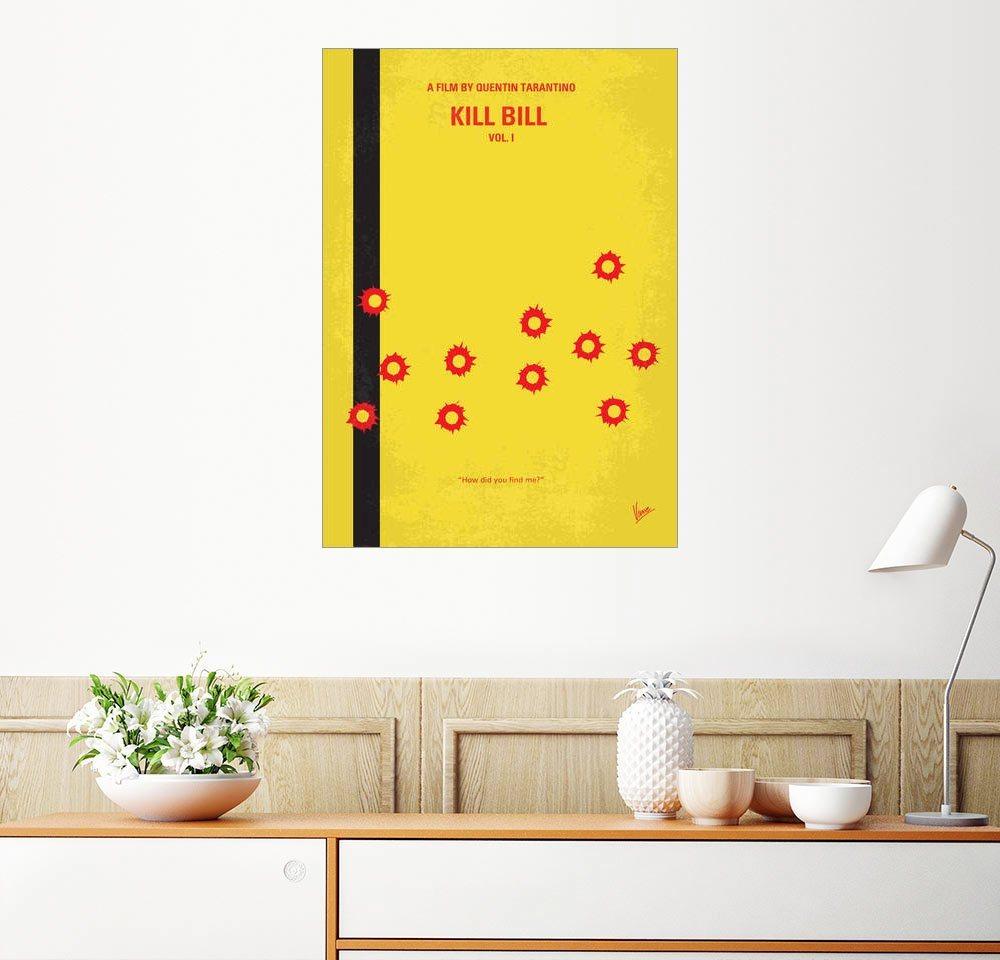 Posterlounge Wandbild   Chungkong »No048 My Kill Bill Part 1 Minimal Movie  Poster«