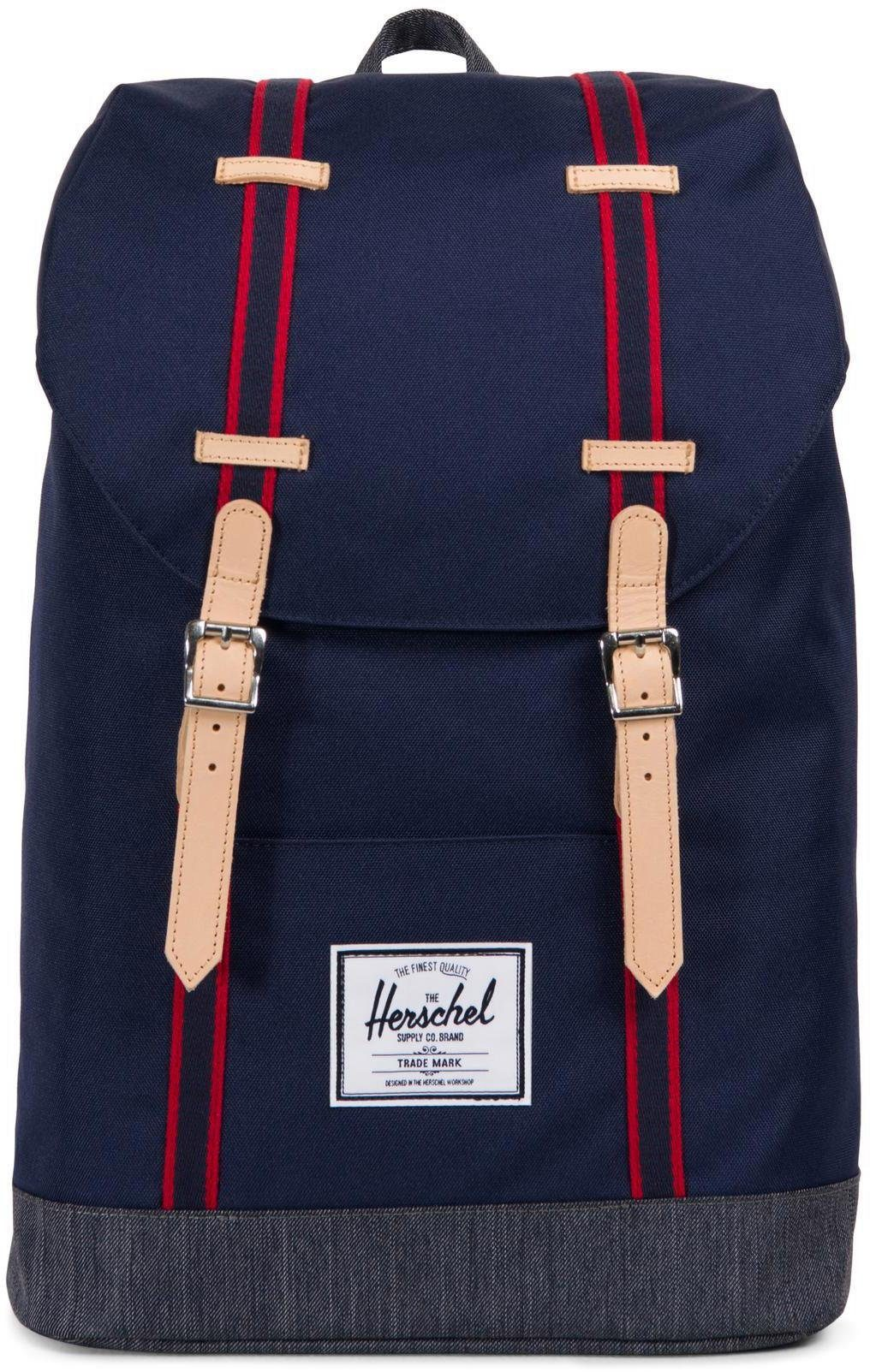 Herschel Rucksack mit Laptopfach, »Retreat, Peacoat/Dark Denim«
