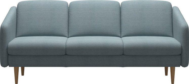 Stressless® 3-Sitzer »Eve«, mit geraden Holzüßen in 3 Ausführungen