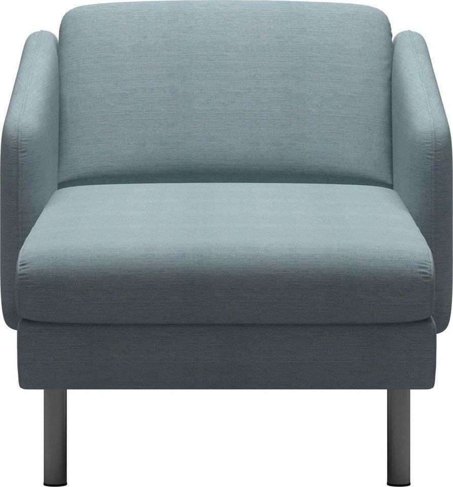 stressless sessel eve mit geraden edelstahlf en in 2. Black Bedroom Furniture Sets. Home Design Ideas