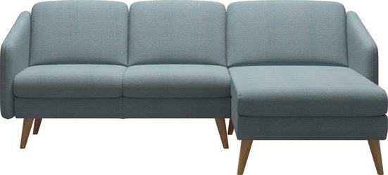 Stressless® 2-Sitzer »Eve«, mit Longseat, mit schrägen Holzüßen in 3 Ausführungen