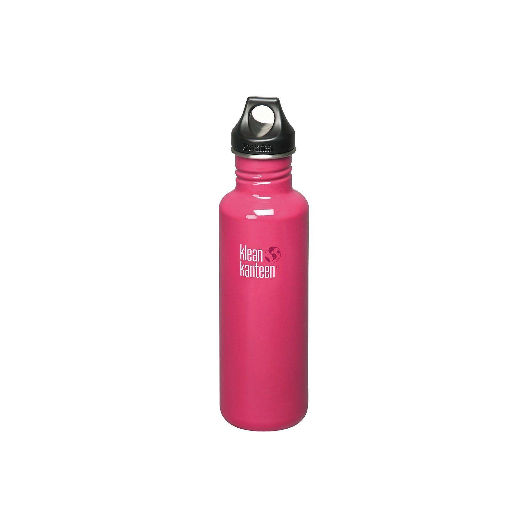 Trinkflasche Kanteen® Classic pink anemone, 800 ml, Loop Cap