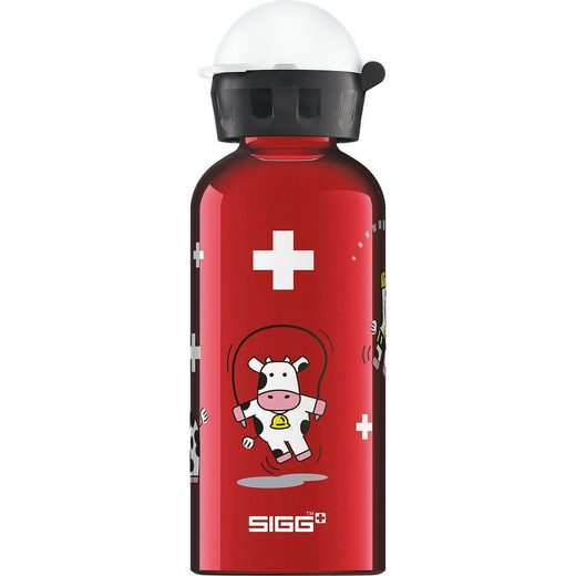 Sigg Alu-Trinkflasche Funny Cows, 400 ml